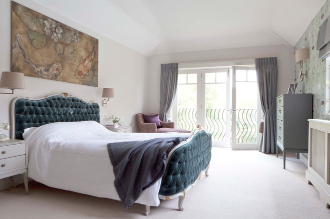 Traditional Bedroom by Fiona Andrews Interiors Limited