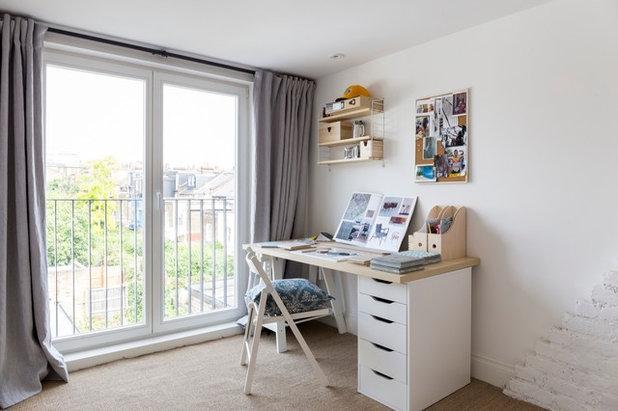 Transitional Bedroom by VORBILD Architecture
