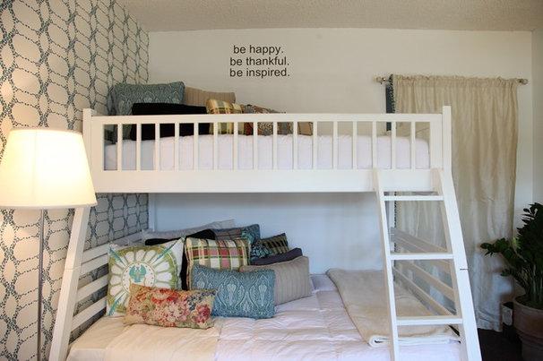 Transitional Bedroom by Rachel Winokur Interiors