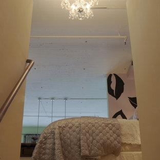 Inredning av ett industriellt sovrum