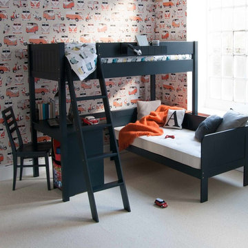 Fargo Highsleeper Bed with Daybed and Storage Desk
