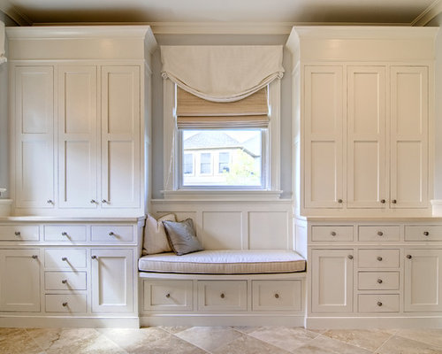 Cabinets Around Window | Houzz