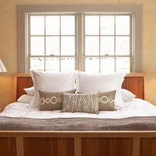 Farmhouse Bedroom by Lisa Teague Design Studios