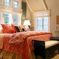 Farmhouse Bedroom by Alison Kandler Interior Design