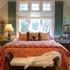 Farmhouse Bedroom by Alison Kandler Interior Design