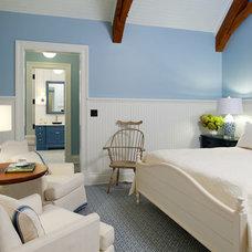Farmhouse Bedroom by Joann Fullen Interiors