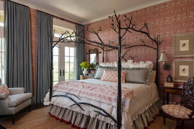 Letti a baldacchino per principi e principesse moderni - Poster camera da letto ...