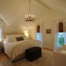 Farmhouse Bedroom by George Clemens Architecture, INC