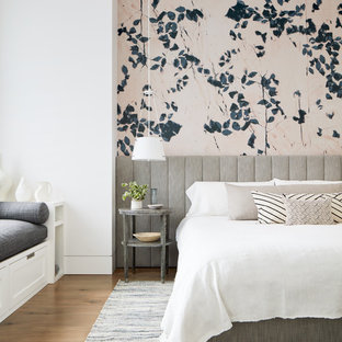 Master Bedroom Wallpaper Ideas Houzz