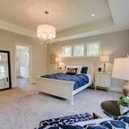 Custom Country Style Hidden Gun Safe - Farmhouse - Bedroom - Austin - by Curtis Cook Designs