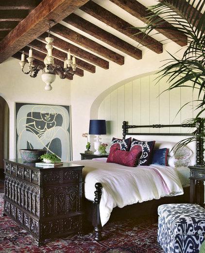Mediterranean Bedroom by Pal + Smith