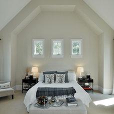 Farmhouse Bedroom by Wells Design Associates