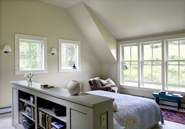 Farmhouse Bedroom by Smith & Vansant Architects PC