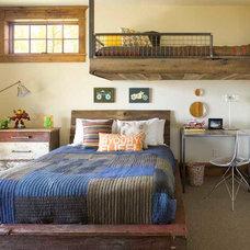 Rustic Bedroom by Studio 80 Interior Design