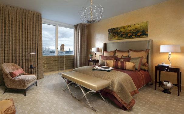 Contemporary Bedroom by James Rixner, Inc.