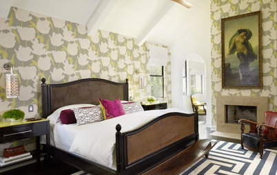 15 Rooms Bursting With Bravely Layered Patterns