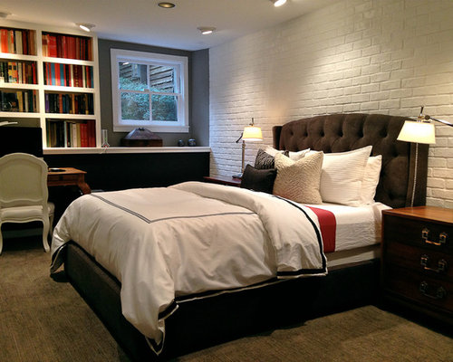 Faux Brick Paneling Houzz