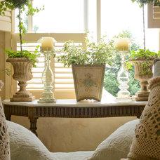 Mediterranean Bedroom by McKinney Photography