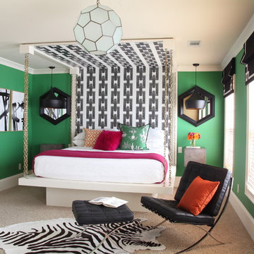Faux Hanging Bed Room