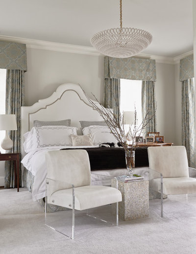 Transitional Bedroom By Home Design Decor Magazine