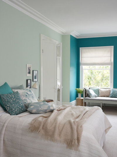 Transitional Bedroom by Dulux Amazing Space