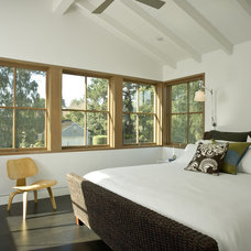 eclectic bedroom by Arcanum Architecture