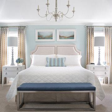 Feminine Retreat Bedroom & Family Room