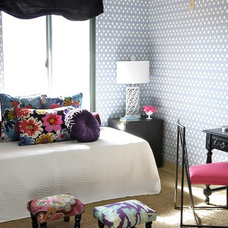 Eclectic Bedroom by Mend