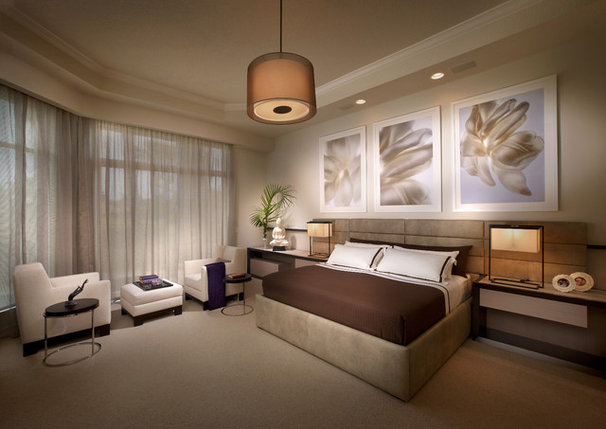 Contemporary Bedroom by b+g design inc.