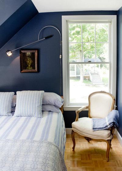 Coastal Bedroom by Tyler Karu Design + Interiors