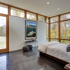Contemporary Bedroom by Bruns Architecture