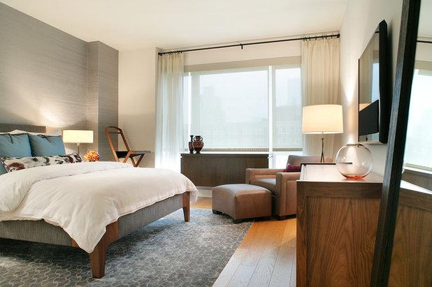 Modern Bedroom by YZDA | Yoshida + Zanon Design Atrium