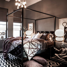 Contemporary Bedroom by HUXHUX Design LLC