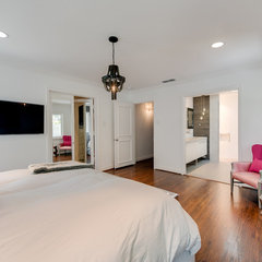 contemporary bedroom Finished House
