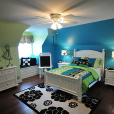 Eclectic Bedroom by Finishing Touches Interiors By Design, Inc.