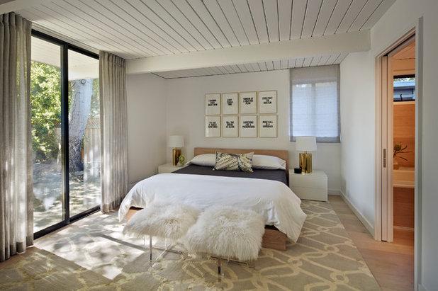 Midcentury Bedroom by Flegel's Construction Co., Inc.
