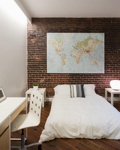 Contemporary Bedroom by Tiffany Farha Design