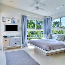 Beach Style Bedroom by Scott Portugal Design