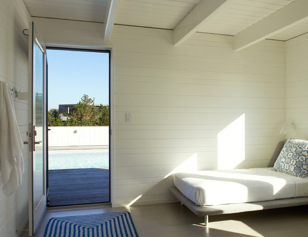 Beach Style Bedroom by Delson or Sherman Architects pc