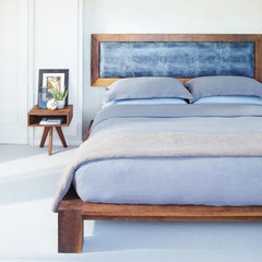 modern bedroom by Kristina Wolf Design