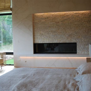 Fireplace lighting