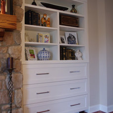 Eclectic Bedroom by Rylex Custom Cabinetry and Closets