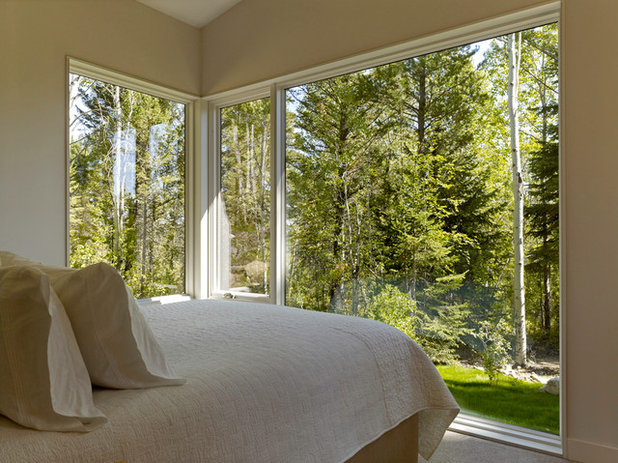 Contemporain Chambre by Carney Logan Burke Architects