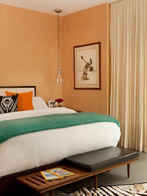 Image Gallery Light Orange Bedroom