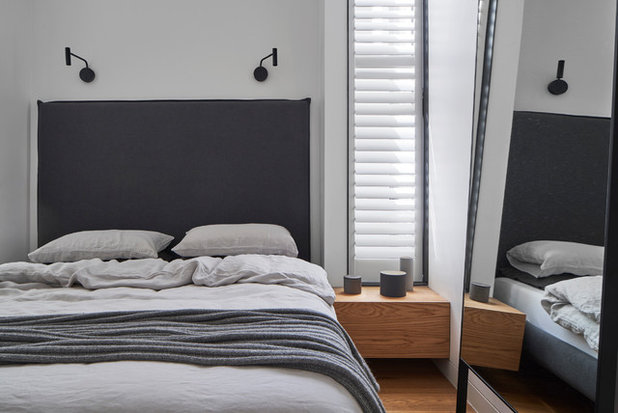 Contemporary Bedroom by Taylor Knights
