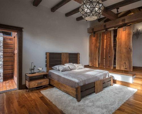 Rustic asian craftsman bedroom design ideas renovations for Craftsman bedroom ideas