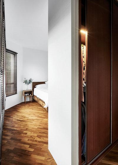 Skandinavisk Soveværelse by Icon Interior Design Pte Ltd