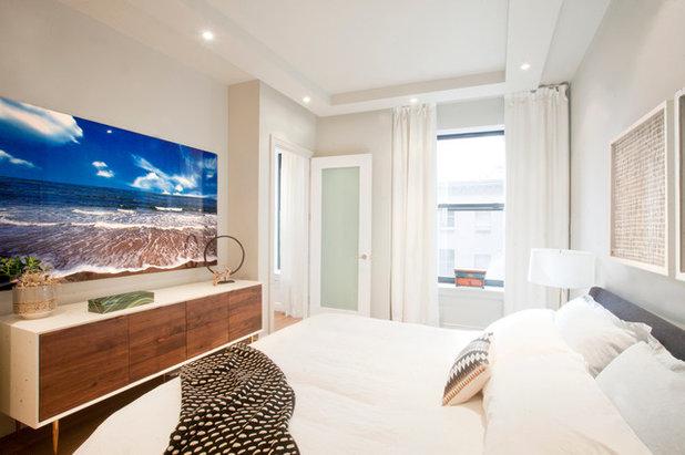 Contemporary Bedroom by JK Walters Inc