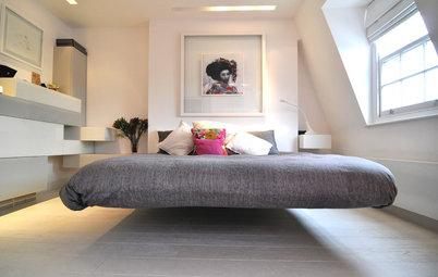 Elegant Bedrooms The Floating Bed Sleeping on Air