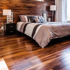 Rustic Bedroom by Urban Design Centre